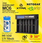 Netgear Arlo Camera Rechargeable Battery CR123a & Charger Kit by XTAR MC6 Charge
