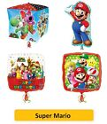 "SUPER MARIO FOLIENBALLONS (Kinder/Kinder/Geburtstag/Party/Folie/18""/Latex)"