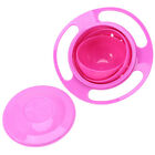 1Pc Spill-Proof Food Gyro Feeding Bowl Dish 360 degree Rotate Baby Children DY