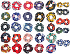 NFL Football Team Fabric Hair Scrunchie or 2 Mini Scrunchies Pick Your Team on eBay
