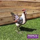 Primus Regal Metal Cockerel Hen - Garden Ornaments