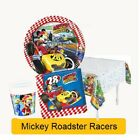 Disney MICKEY Mouse AND THE ROADSTER RACERS - Birthday Party Range & Decorations