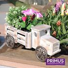 Primus Wooden Truck Tricycle Planters - Outdoor Garden Planters