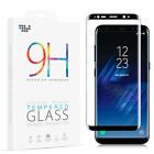 Full Coverage Tempered Glass Screen Protector Shield for Samsung Galaxy S8 Plus