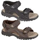 Mens Faux Leather Summer Sandals Walking Hiking Trekking Sandals Beach Shoes Siz