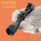 SUTTER 3-12x40E R11 Reticle Red Green Illuminated Gold Edition Hunting Scope