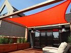 NEW MTN 18'x18' RECTANGLE SQUARE SUN SAIL SHADE CANOPY TOP COVER-CHOOSE