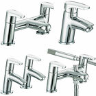 BRISTAN ORTA TAPS BASIN MIXER BATH SHOWER FILLER CHROME MONO BATHROOM SET NEW