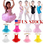 Girl Ballet Tutu Skirt Dress Toddler Child Gymnastics Leotard Dance Wear Costume