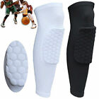 Kids Adult Pad Basketball Leg Knee Long Sleeve Protector Gear Crashproof DV