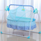 Big Space Electric Baby Crib Cradle Infant Rocker Auto-Swing Bed Baby Cradle New