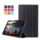 Folding PU Leather Magnetic Flip Stand Case Cover For Lenovo TAB Series Tablet