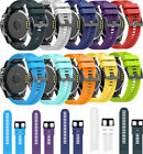 26mm Replacement Silicone Band Wrist Strap Bracelet For Garmin Fenix 5X/3/3HR/D2