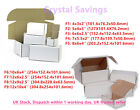 Die Cut Folding Lid Postal Cardboard PIP Box Small Packet Parcel Shipping CS