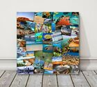 Personalised Shape Collage Canvas - photo canvas Print. Designed for you