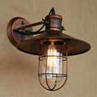 BAYCHEER Industrial Retro Single Light Antique metal Copper Nautical Wall Sconce
