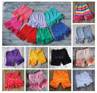 Ruffle Shorts Icing Ruffle Shorties Girls Rainbow ruffle Shorts 12m 10 years