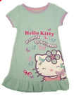Girls HELLO KITTY M & S nightie nightdress short sleeve age 2 3 4 5 years pyjama
