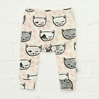 Summer Baby Kids Boys Girls Animal Pattern Leggings Harem PP Pants Trousers 0-4Y