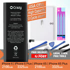NEW Genuine Crazy iPhone Battery Replacement for Apple iPhone 6 6S Plus Tools