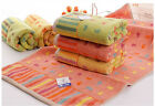 Pack of 3 Top Brand Absorbent Cotton Hand Towel Soft Health Face towels 78X36cm