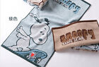 2 pcs Snoopy License Brand Cotton Hand Towel Cartoon Adult Sport Towel Thicker