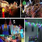 200 LED 20m Outdoor Solar Powered String Light Garden Christmas Party Fairy Lamp