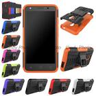For Alcatel One Touch Pixi 4 5.0 4G Rubber Kickstand Armor Hybrid Cover Case