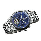 Luxury Swiss Brand Watches KINYUED Men Automatic Mechanical Watch Steel Bracelet
