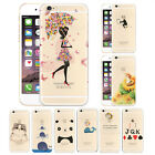 Ultra Thin Cute Creative Cartoon Clear Phone Case Cover For iPhone 5 SE 6s 6Plus