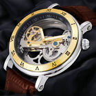 Forsining Luxury Automatic Mechanical Sport Leather Analog Wrist Watch+Gift Box
