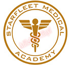 Starfleet Medical Academy Medic Emblem Vinyl Decal Window St