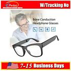Bluetooth Wireless Glasses Bone Conduction Headphone Myopia Music For HTC Phone