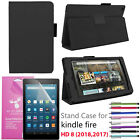 Amazon Fire HD 8 Premium Leather case for HD 8 2017 7th Gen/ 2018 8th Generation