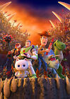 Toy Story Poster Movie Buzz Lightyear Woody Rex Movie  FREE P+P CHOOSE YOUR SIZE