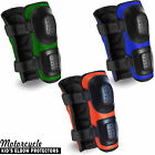 Kids Motorcycle Elbow Protector Brace Support Snowbaords Skate MX Protection 2X