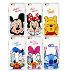 CARTOON CUTE DISNEY MINNIE MICKEY CLEAR TPU SOFT PHONE CASE FOR IPHONE 7 & 7Plus