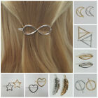 Fashion Barrette Metal Hair Pin Clip Gold Silver Multi Shape