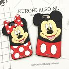 3D Cute Disney Soft Full Silicone Phone Case Cover For iPhone 5 5S 6 6S 7 Plus