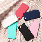 Candy Coque Case Fashion Soft Silicone Phone Protective Cover  For iPhone 6 6S 7