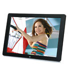 New 15 inch HD LED Digital Photo Picture Frame MP3 MP4 Movie+Remote Control TR