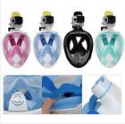 Diving Mask Full Face Design Anti-fogging snorkeling Scuba for Adults & Youth