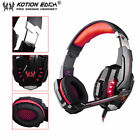 EACH G9000 3.5mm Gaming Headphone Microphone USB Headset LED Light For PS4 LPP