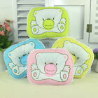 New Baby Soft Pillow Infant Toddler Lovely Baby Bedding Bear Print Oval