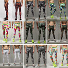 Mens Gym Sports Skin Tights Compression Base Under Layer Pants Athletic Apparel