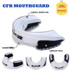 New Gel Gum Shield Case Mouth Guard Boxing MMA Junior Adult Rugby Mouthpiece HG