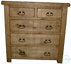New Handmade Painted Plank Solid Wood Drawer Chest - Multiple Sizes Available