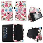 TABLET CASE FOR NUVISION TM800W560L TM800P610L ID CARD POCKET STYLUS COVER STAND