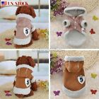 Small Pet Dog Cat Puppy Hoodie Coat Jacket Winter Warm Costume Apparel Clothes