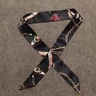 Fashion Women Scarves Twilly Ribbon Tied The Bag Handle Decoration Small Scarf